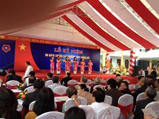 Lễ kỷ niệm 50 năm Thành lập Trường THPT Đồng Hới