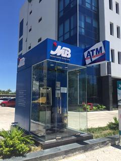 Thi công boot ATM Ngân hàng
