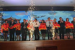Khai trương tuyến bay Quảng Bình - Hải Phòng