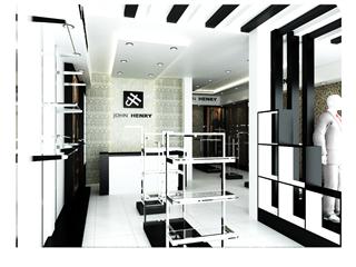 Thi công showroom John Henry
