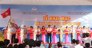 """Khai mạc  triển lãm bản đồ và trưng bày tư liệu """"Hoàng Sa, Trường Sa của Việt Nam – Những bằng chứng lịch sử và pháp lý"""""""